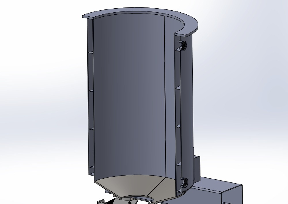 stainless steel vat rendering