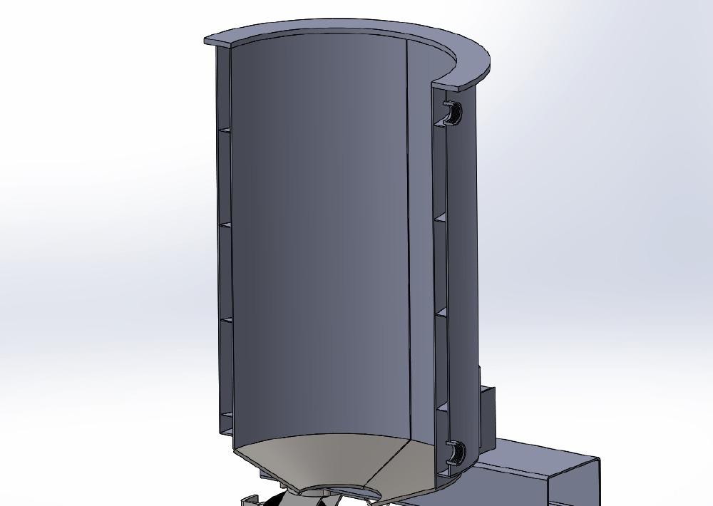 stainless steel vat rendering